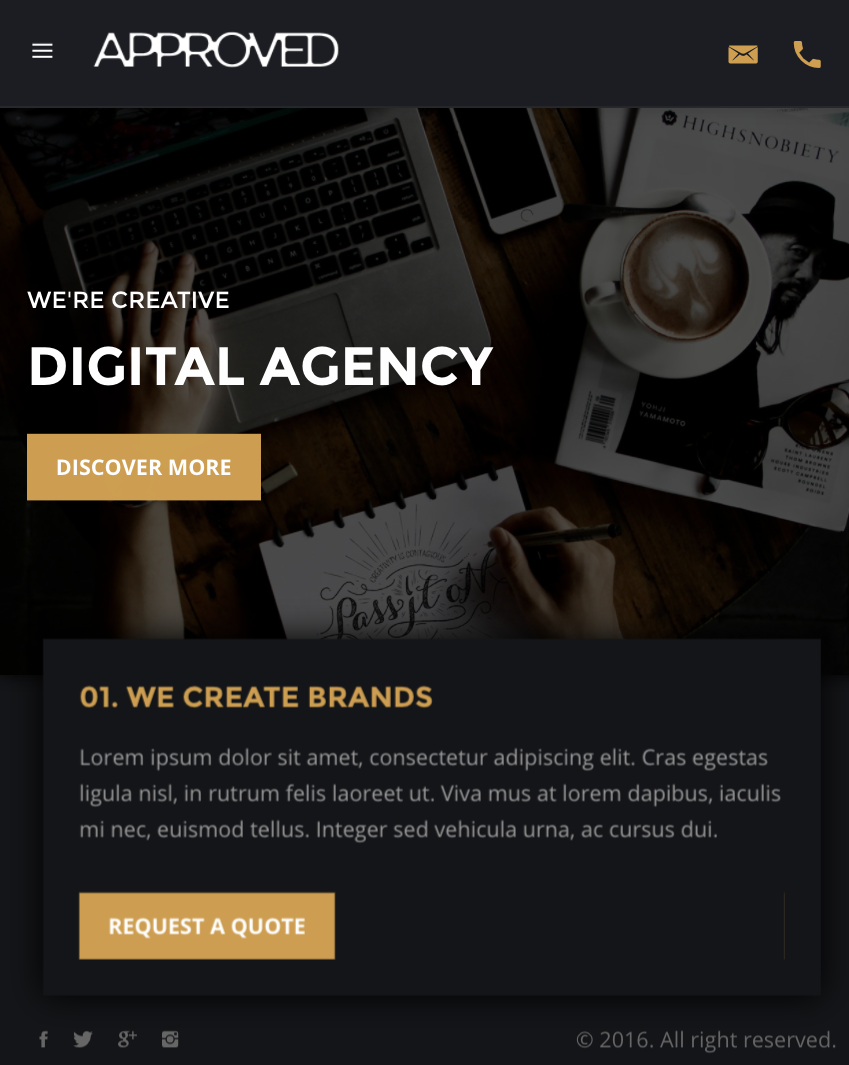 Approved – All in One Multipurpose Html Templates